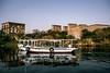 Phylae temple, Aswan (bruno vanbesien) Tags: aswan egypt misr boat river temple أسوان eg