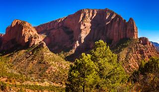 Kolob Canyons at Utah's Zion National Park