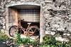 618 (bluefootedbooby) Tags: bicicletta rudere abbandono bicycle ruins