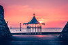 Southsea Bandstand Walkway at Sunset (mynamesleon) Tags: sea seascape solent thesolent water ocean bandstand southsea portsmouth coast