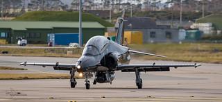 4 Sqn BAE Hawk T2 Trainer