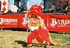 Ektar 100 - Lion dancer (Kevrockydon) Tags: film filmphotography 35mm nikkormat el nikkormatel kodak kodakektar ektar ektar100 lunarnewyear lunar new year newyear tet lion liondancing liondance liondancer dancer