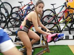 Alba Álvarez triatlón Indoor team clavería triatlón World