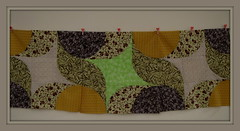 """SPICES"" - Three blocks now (Patchwork Daily Desire) Tags: drunkards churndash quilting quilt quilted quilts patchworkdailydesire patchwork piecing scraps crafts cozy coffee spices"