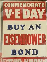 "EISENHOWER WWII WAR BONDS POSTER.  $95. • <a style=""font-size:0.8em;"" href=""http://www.flickr.com/photos/51721355@N02/39597039732/"" target=""_blank"">View on Flickr</a>"