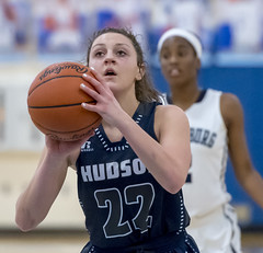 DSC_3349 (K.M. Klemencic) Tags: hudson high school girls basketball lady explorers twinsburg tigers ohsaa sectional ohio