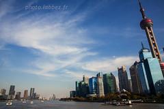Shanghai en Chine (louis.labbez) Tags: chine ville china town labbez asie asia shanghai architecture yuangpu fleuve immeuble skyline gratteciel river
