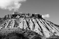 Sicily _ temple and badlands (piero.mammino) Tags: sicilia sicily tempio temple antico ancient greco greek colonne columns calanchi badlands landscape bianconero monocromo agrigento
