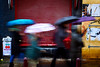 (Kévin Proust) Tags: amsterdam streetphotography people mouve mouvement umbrella colorful color rain rainy