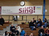 Wigan Beer Fest... Let's Sing! (deltrems) Tags: camra beerfestival beer festival sports hall gym gymnasium people men women real ale campaign wigan greater manchester cider