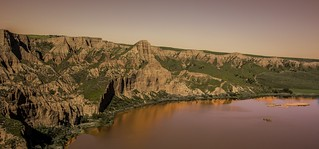 Barrancas de Burujón. nuestro pequeño gran cañón. un paisaje único .