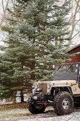 Jeep & Snow -16 (sammycj2a) Tags: willys jeep snow nikon rockcrawler winch factor55 ogden utah