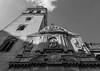 Stonework - Iglesia de San Pedro - Seville - Spain (BW) (Olympus OM-D EM1-II & M.Zuiko 12-40mm f2.8 Pro Zoom) (1 of 1) (markdbaynham) Tags: seville sevilla spain spainish espana espanol city historic famous urban metropolis andalusia andalusian olympus omd em1 em1ii em1mk2 csc mirrorless mzd mzuiko zuikolic 1240mm f28 prozoom mft m43 micro43 micro43rd m43rd street bw monochrome blackwhite iglesia church iglesiasanpedro