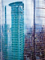 Hong Kong (Bill Thoo) Tags: dslra900 a900 sony mosaic abstract windows building skyscraper hongkong mongkok reflection city urban architecture cityscape glass modern built 香港 旺角