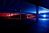 ARI hospital car park-3.jpg (___INFINITY___) Tags: 6d arihospitalcarpark aberdeen godoxad360 architect architecture blue building canon canon1740f4 carpark color colour darrenwright dazza1040 eos flash infinity light lightpainting me night red scotland selfie silloutte strobist
