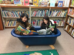 English and American Culture Program (Lower Columbia College) Tags: readingroom library english american culture program niiza saitama japan lcc lowercolumbiacollege atomi university visit international internationalstudent exchange exchangestudent japanesestudent people cultural