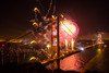 75th Birthday Golden Gate Bridge (Thomas Hawk) Tags: 75thbirthdaygoldengatebridge america batteryspencer california goldengatebridge marin marinheadlands sanfrancisco usa unitedstates unitedstatesofamerica bridge fireworks millvalley us fav10 fav25 fav50 fav100