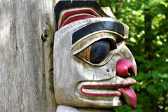 Totem Park (thomasgorman1) Tags: totem native tlingit craft wooden culture nikon mythology flickrclickx