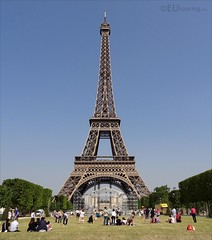 The famed Eiffel Tower