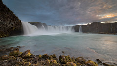 Godly Waters (lsten) Tags: beforesunset natureview amazing nature water mystical bracketing theunforgettablepictures hdr summer tripod amateurphotography landscapephotography stunning sky wideangle landscape cliffs goðafoss overcast magnificent clouds iceland waterfall colorful scenery beautiful travelphotography majestical bracketed f16 canyon naturephotography laowa12mmf28zerod iso100 12mm canoneos5dmarkiv
