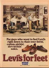 1978 Levis Shoe Advertisement Playboy May 1978 (SenseiAlan) Tags: 1978 levis shoe advertisement playboy may