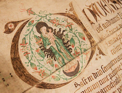 Urkunde (CA_Rotwang) Tags: bochum deutschland germany ruhrgebiet nrw stadtarchiv archive document mediveal mittelalter middle ages maria religion