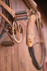 Rough Rider (dennisgg2002) Tags: dunstable ma massachusetts bicycle bike rust antique bokeh vintage