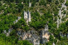 Ruïne aan de Tarn (Bert Muller) Tags: vakanties zomervakantie sainteénimie languedocroussillon frankrijk fr