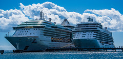 2017 - Regent Cruise - Martinique - Fort de France Pointe Simon Pier (Ted's photos - For Me & You) Tags: 2017 cropped martinique nikon nikond750 nikonfx regentcruise tedmcgrath tedsphotos vignetting ship boats ships regentexplorer sevenseasexplorer jeweloftheseas pier pointesimonpier water caribbean caribbeansea ropes