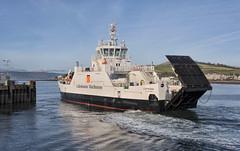 MV CATRIONA (fordgt4040) Tags: vessel ship boat nautical passengerferry carferry calmac firthofclyde largs greatcumbrae underway nikon nikond750 digitalcamera nikkorlens motorvessel scotland westofscotland marine sea mvcatriona largsferryterminal millport