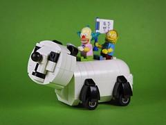 nEO_IMG_DOGOD_Panda car_01 (DOGOD Brick Design) Tags: pingpongclub japan love comics lego moc brick taiwan dogod ianhou 稲中卓球社 稲中卓球部 去吧稻中乒團