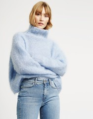 Hotline_Sweater_7 (ducksworth2) Tags: knit knitwear jumper sweater thick chunky bulky wool turtleneck mohair
