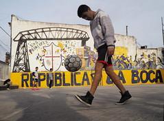 Boca Juniors (DarkLantern) Tags: argentina buenosaires laboca futbol olympus omd em10 17mmf18 street photography