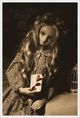 Albinoska (★ betelgeza) Tags: volks mika super dollfie bjd bjds balljointed doll