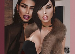my Bitch ♥ (St.Brayni) Tags: brunette beautiful black bitch secondlife sexy sl selfie shape smokey ps girl girls genesislab gorgeous genesis digital catwa friends fashion forever afternoon