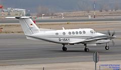 D-ISKY LEMD 10-01-2018 (Burmarrad (Mark) Camenzuli Thank you for the 10.3) Tags: airline air hamburg aircraft beechcraft b200gt super king registration disky cn bb2014 lemd 10012018
