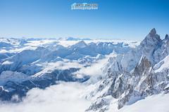 La vista da Punta Helbronner (Albi Nikon) Tags: dente gigante monte bianco courmayeur vda inverno alta quota blue sky