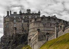 Edinburgh Castle_G5A7003 (ronniefleming@btinternet.com) Tags: edinburgh scotland architectural rooftops clouds edinburghcastle ronniefleming ph31fy visitscotland castle battlements fortress