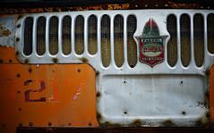 Twin Coach (jtr27) Tags: dsc00550e jtr27 sony alpha alpha7 a7 ilce7 ilce mirrorless emount canon fd fdn nfd 100mm f28 manualfocus twincoach fageol bus orange kent ohio oh maine junkyard 7217