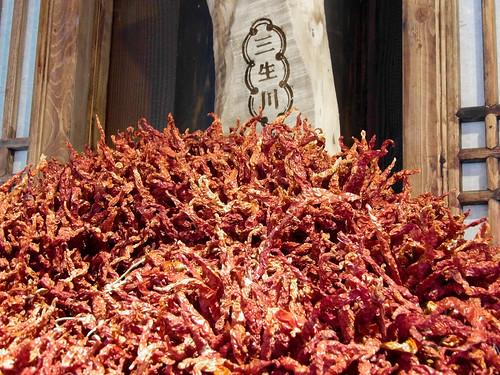 Le piment du Sichuan