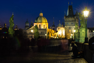Long exposure in Prague 4
