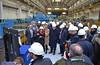 turbina7 (Genova città digitale) Tags: ansaldo energia genova febbraio 2018 turbina gas gt36 sindaco ministro bucci pinotti fegino