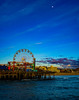 ferriswheelandmoon (1 of 1) (Brian.James.Mori) Tags: santa monica pier sonyfe1635mmf28gm