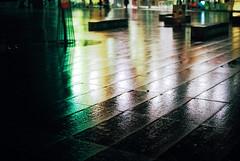 Rainy winter pre-dawn (film) (mkk707) Tags: film analog wwwmeinfilmlabde rollei rolleiflex rolleiflexsl350 frankeheidecke kodakportra800 35mmfilm manualfocuslens vintagelens vintagefilmcamera