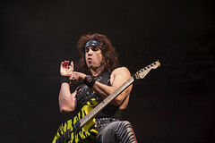 Satchel (guitar) - Steel Panther (Samarrakaton) Tags: rock glamrock guitar samarrakaton nikon d750 live directo bilbao bilbo concert concierto santana27 2018 steelpanther