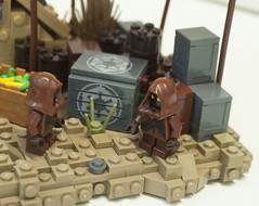 Jawas (Ben Cossy) Tags: lego jawa jawas tatooine star wars moc afol tfol minifig fig minifigures minifigure cargo imperial empire logo sand