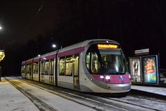 Midland Metro 30 (Will Swain) Tags: birmingham 11th december 2017 west midland midlands city centre tram trams light rail railway rails transport travel europe kenrick park stop metro 30
