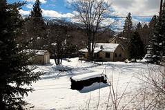 Verdi, Nevada (Narodnie Mstiteli) Tags: verdi nevada winterscene donbachman snow settlement rural house trees