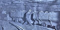 Boy braking on motor train 10 hrs. a day, Gary, WV [Hine] 1908 LOC.01075u (SSAVE over 11 MILLION views THX) Tags: appalachia coalmining boys childlabor westvirginia 1908 coal mining mines
