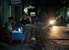 the street writer (grapfapan) Tags: vietnam travel cát bà urban street woman motorbike night